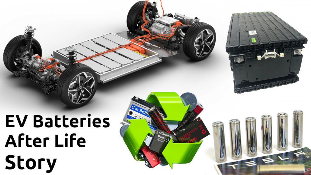 EV Batteries after life | Battery Recycling Process