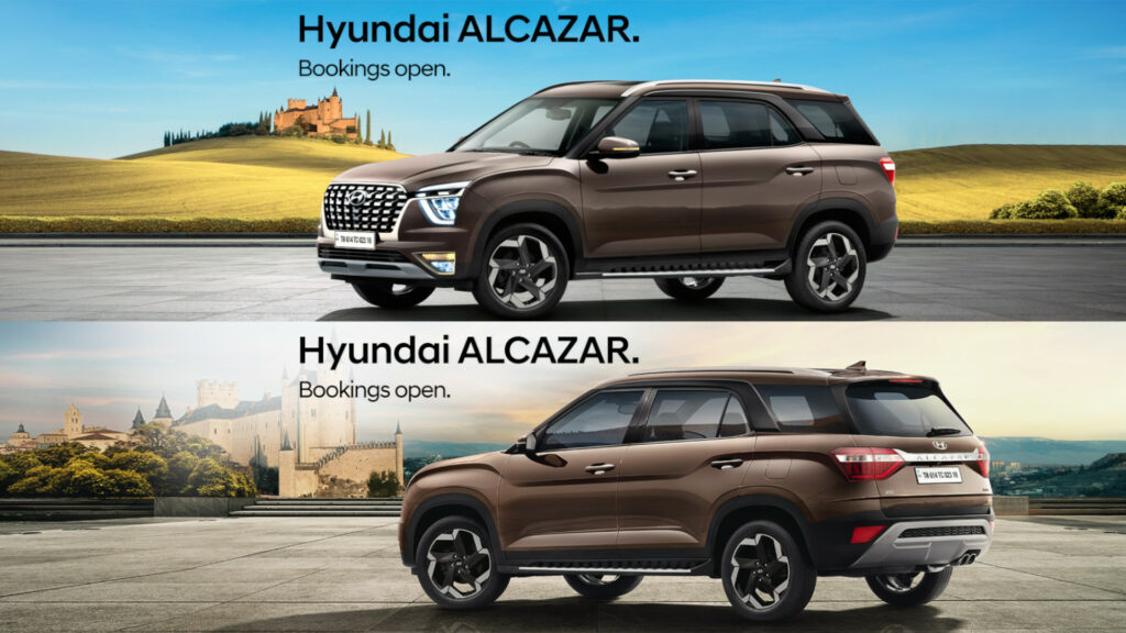 Hyundai Motor bookings open of new Alcazar at Rs 25,000