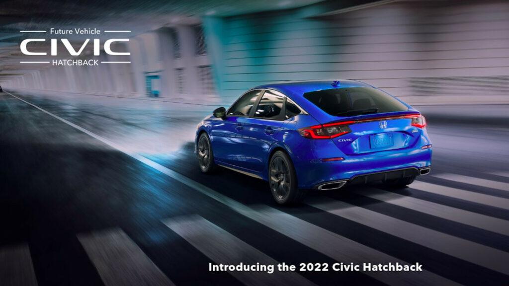 All-New 2022 Honda Civic Hatchback: Coming Soon