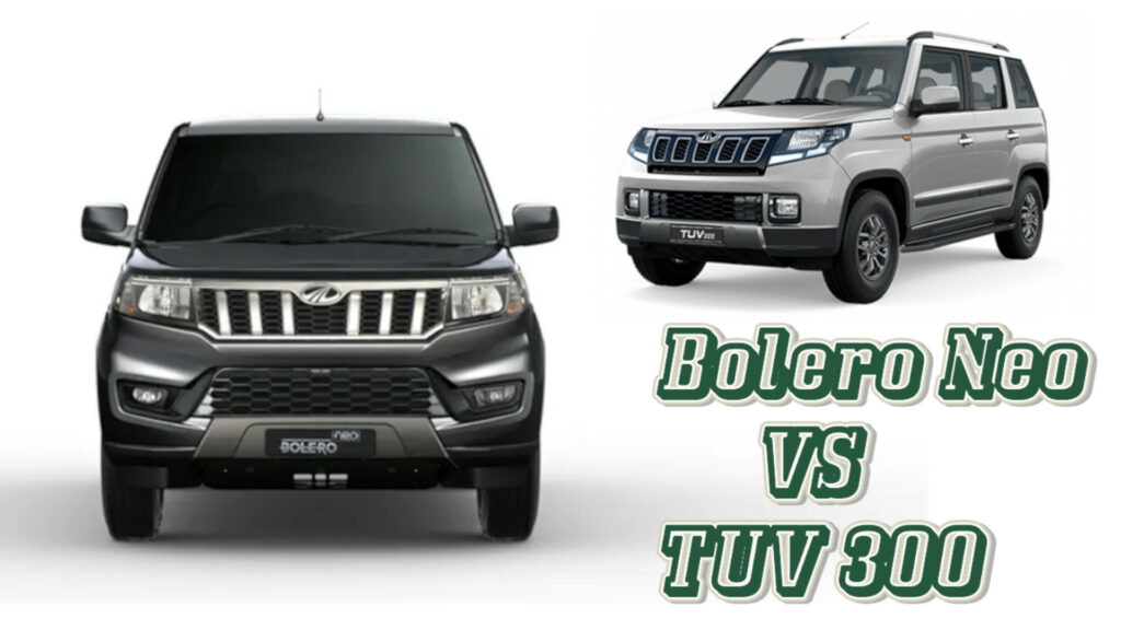Bolero Neo vs TUV 300 - What's Different?
