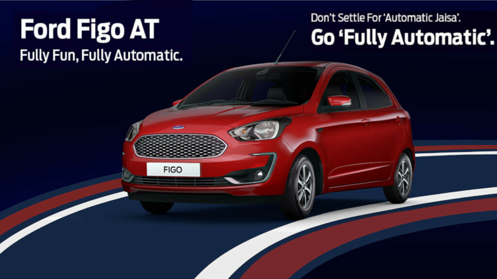 Good News for Ford Lovers (Ford Figo automatic variant launched in India)