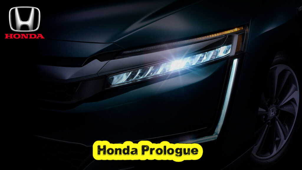 Honda's first ever electric SUV named Prologue