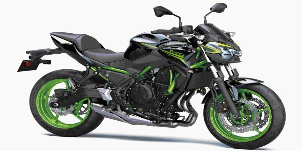 2022 Kawasaki Z650 Design