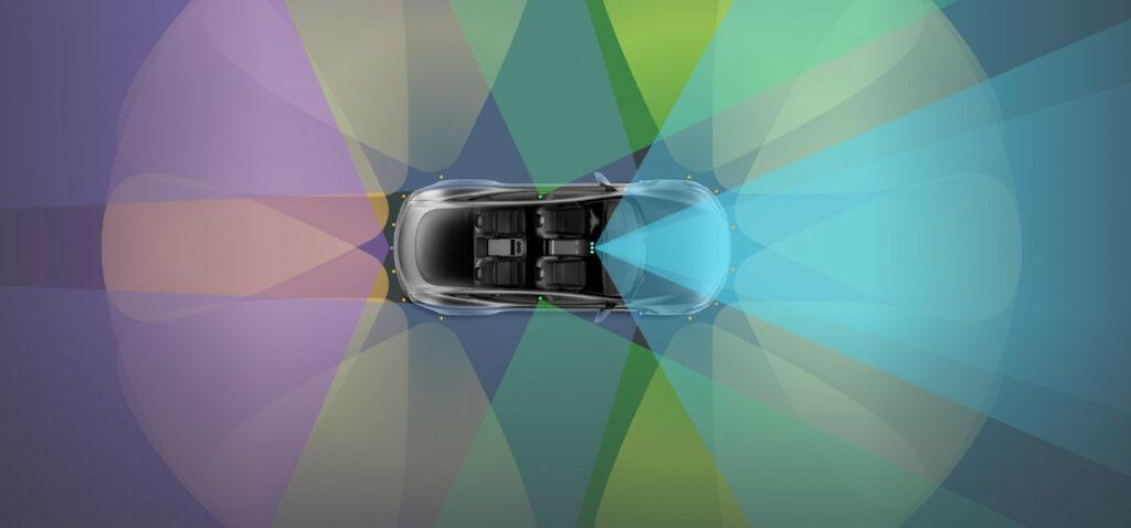 Tesla autonomous/self-driving