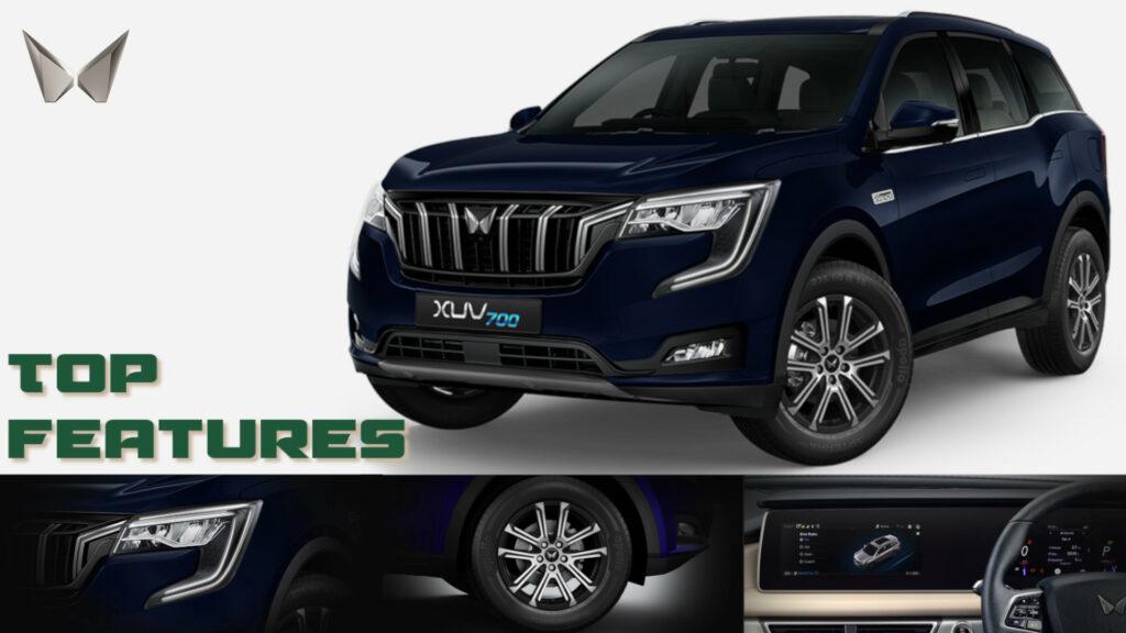 Mahindra XUV700 features - Experience rush like never before