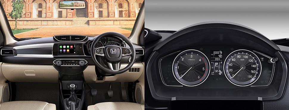 New Honda Amaze Interiors