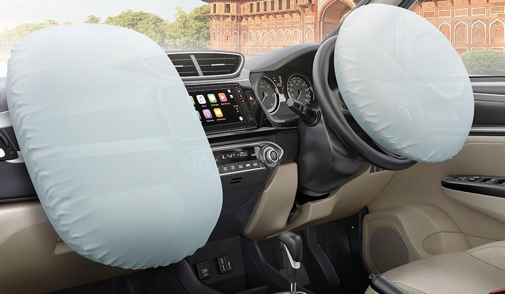 New Honda Amaze Safety