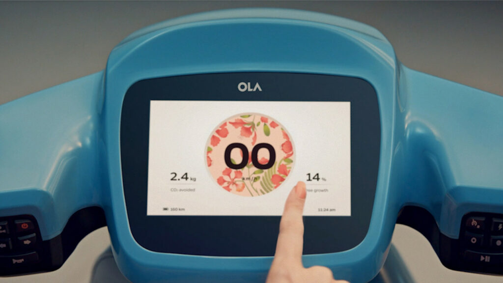 OLA Electric Scooter technology & features