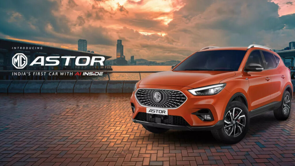 All new MG Astor - India's First Car With AI Inside