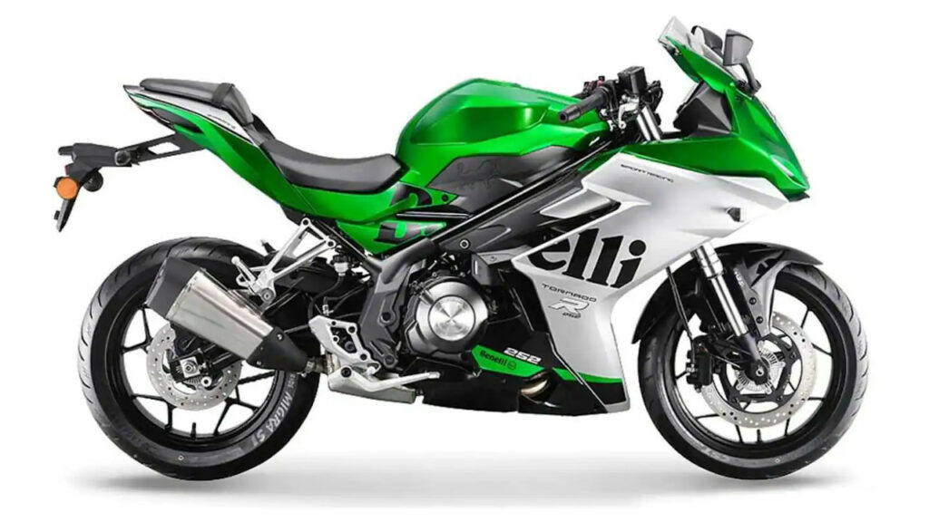 Benelli Tornado 252R gets disc brakes on both the wheels