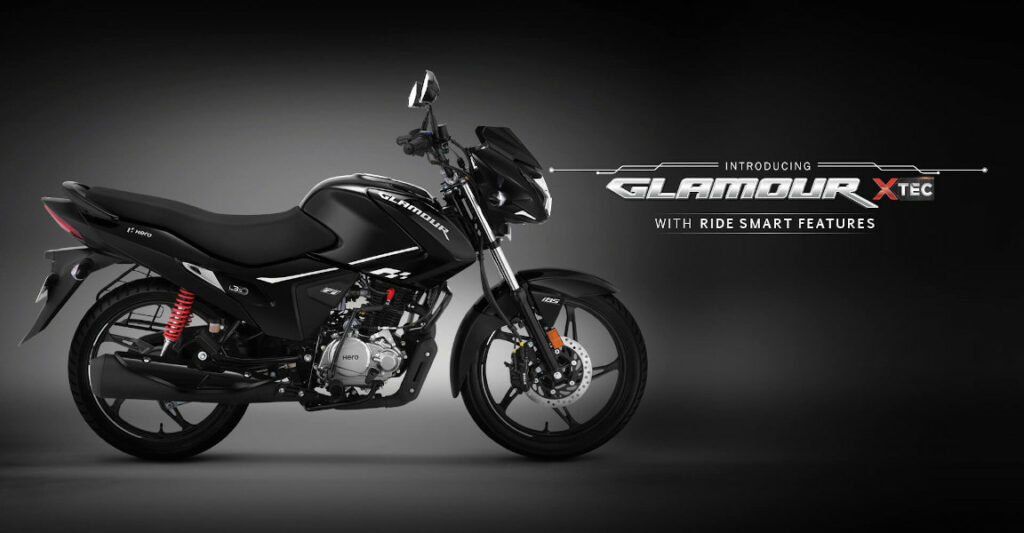 Hero Glamour Xtec With Smart Features