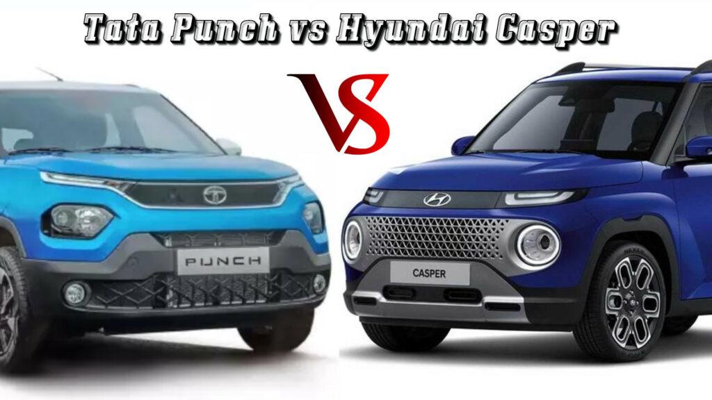 Tata Punch vs Hyundai Casper - Know Which Is Better!