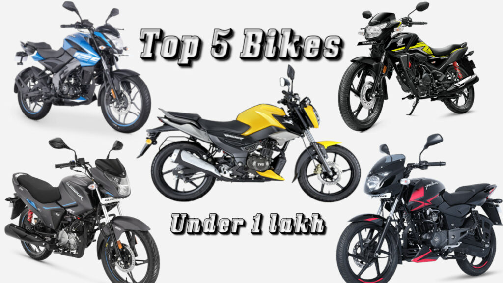 Top 5 bikes under 1 lakh in India 2021