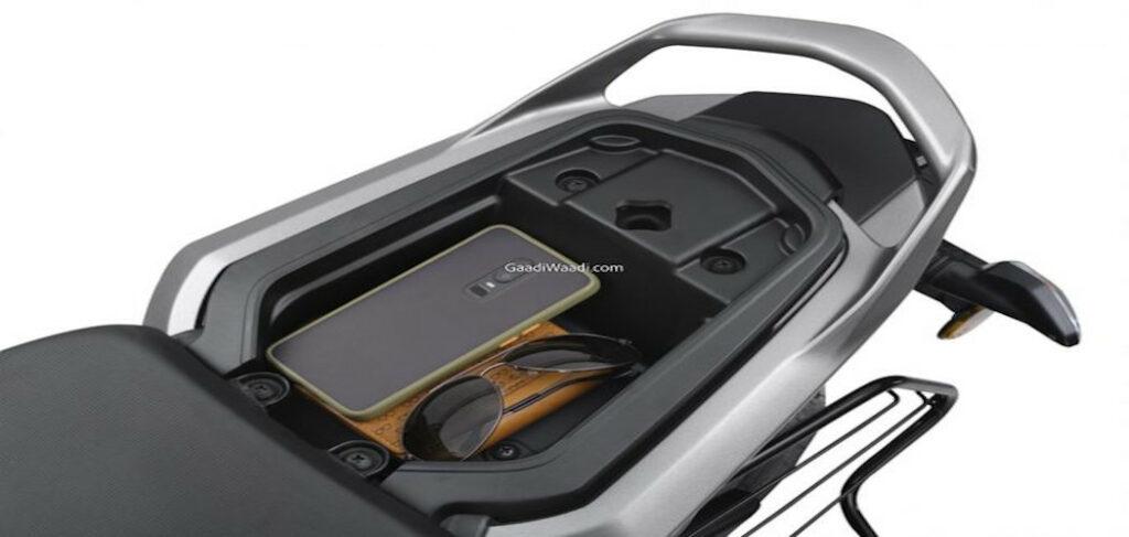 Raider - Under-Seat Storage