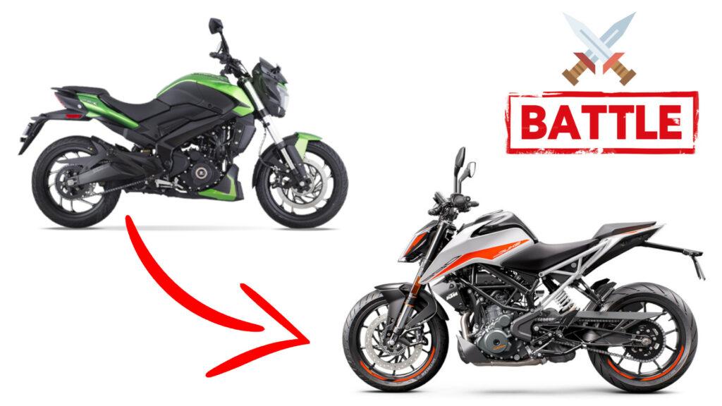 Bajaj Dominar 400 vs KTM Duke 390 - Details Comparison