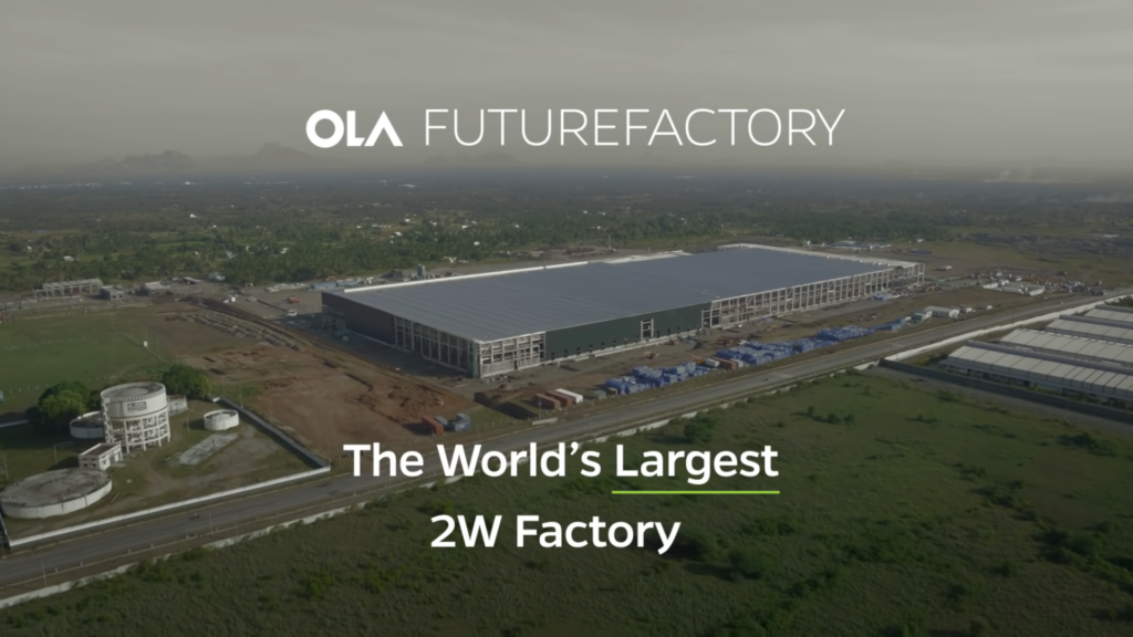 Ola Future Factory - The World's Largest Women Only Two Wheeler Factory