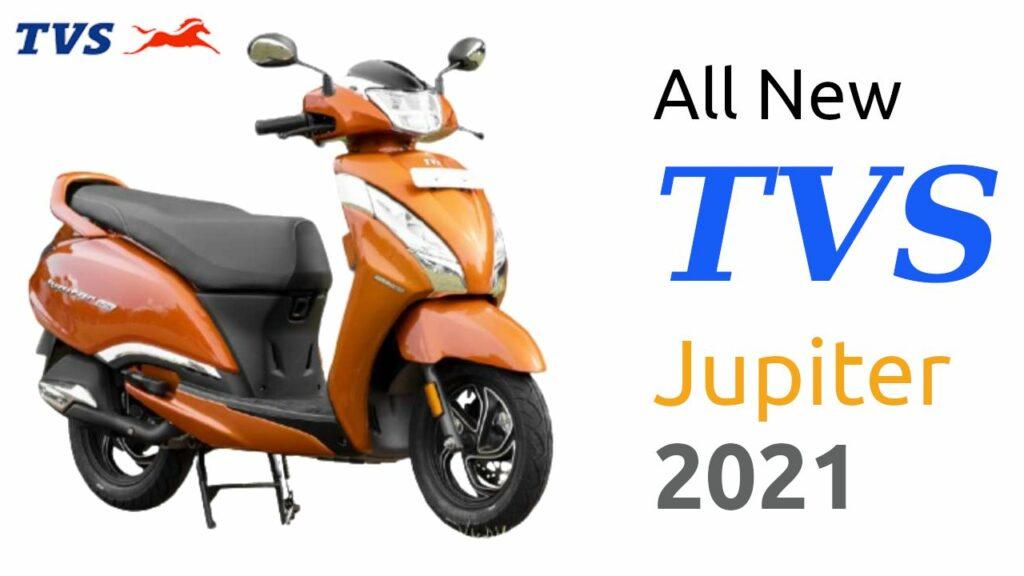 All New TVS Jupiter 125 2021